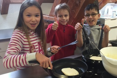 Englisch mit Pancakes