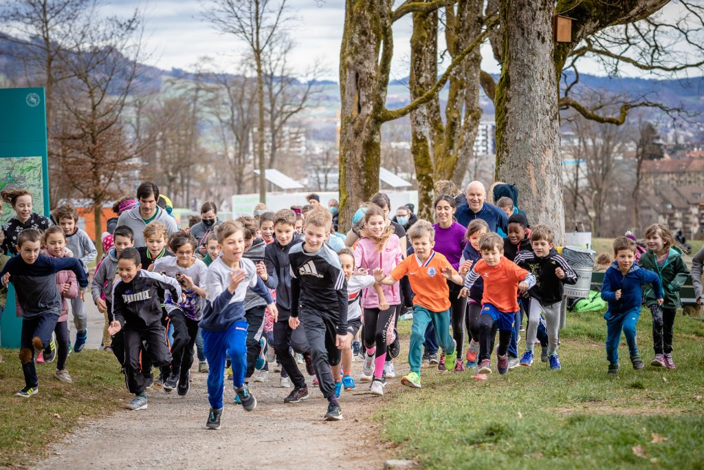 Sponsorenlauf - Der Start